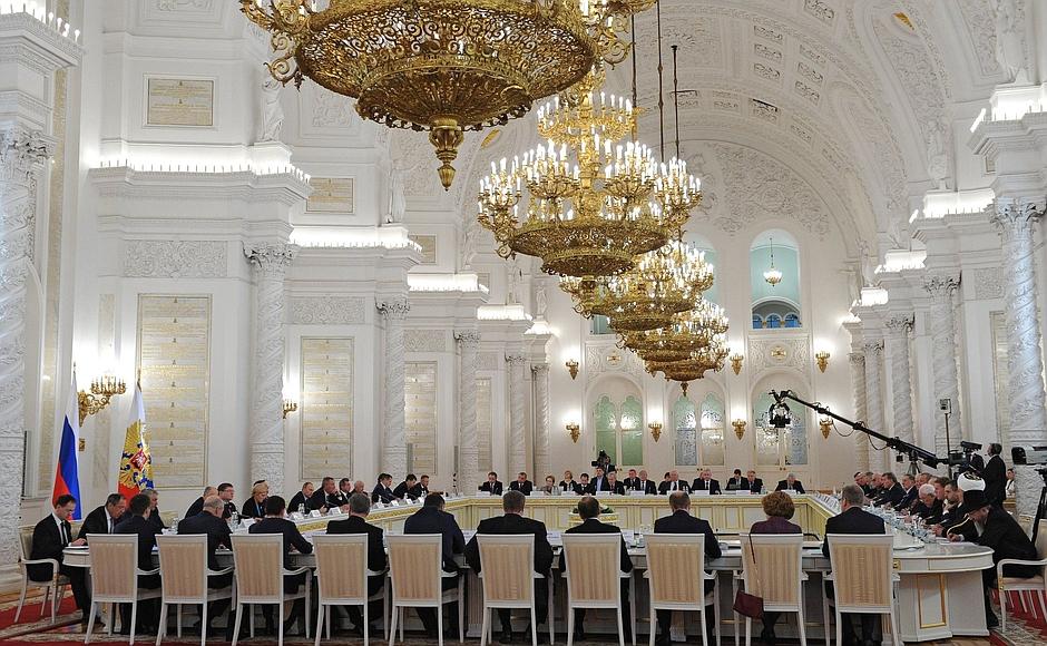 заседание Координационного совета ветеранских организаций при Российском организационном комитете «Победа»